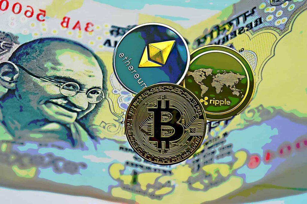 Bitcoin SV (BSV) La Rupie indiană (INR) preț diagramă live