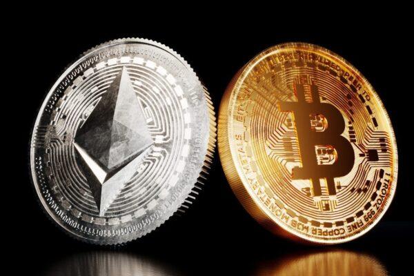ether vs bitcoin