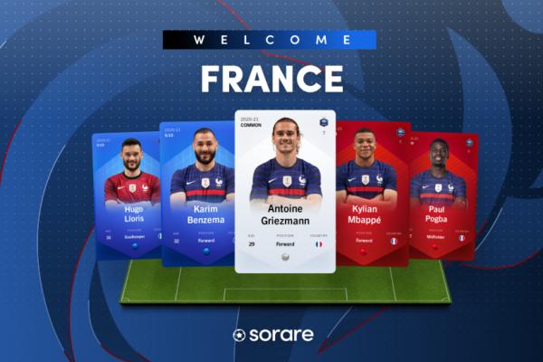 sorare nft echipa franceza
